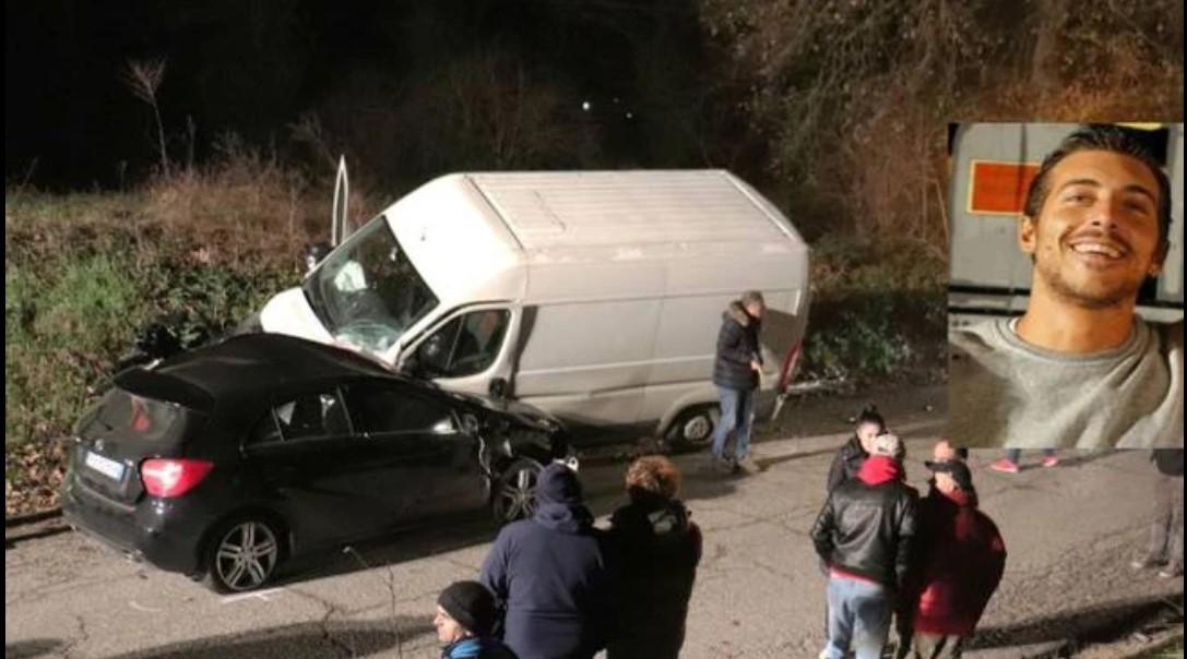 Alessio Ronconi morto in un incidente, il padre poliziotto scopre il figlio senza vita