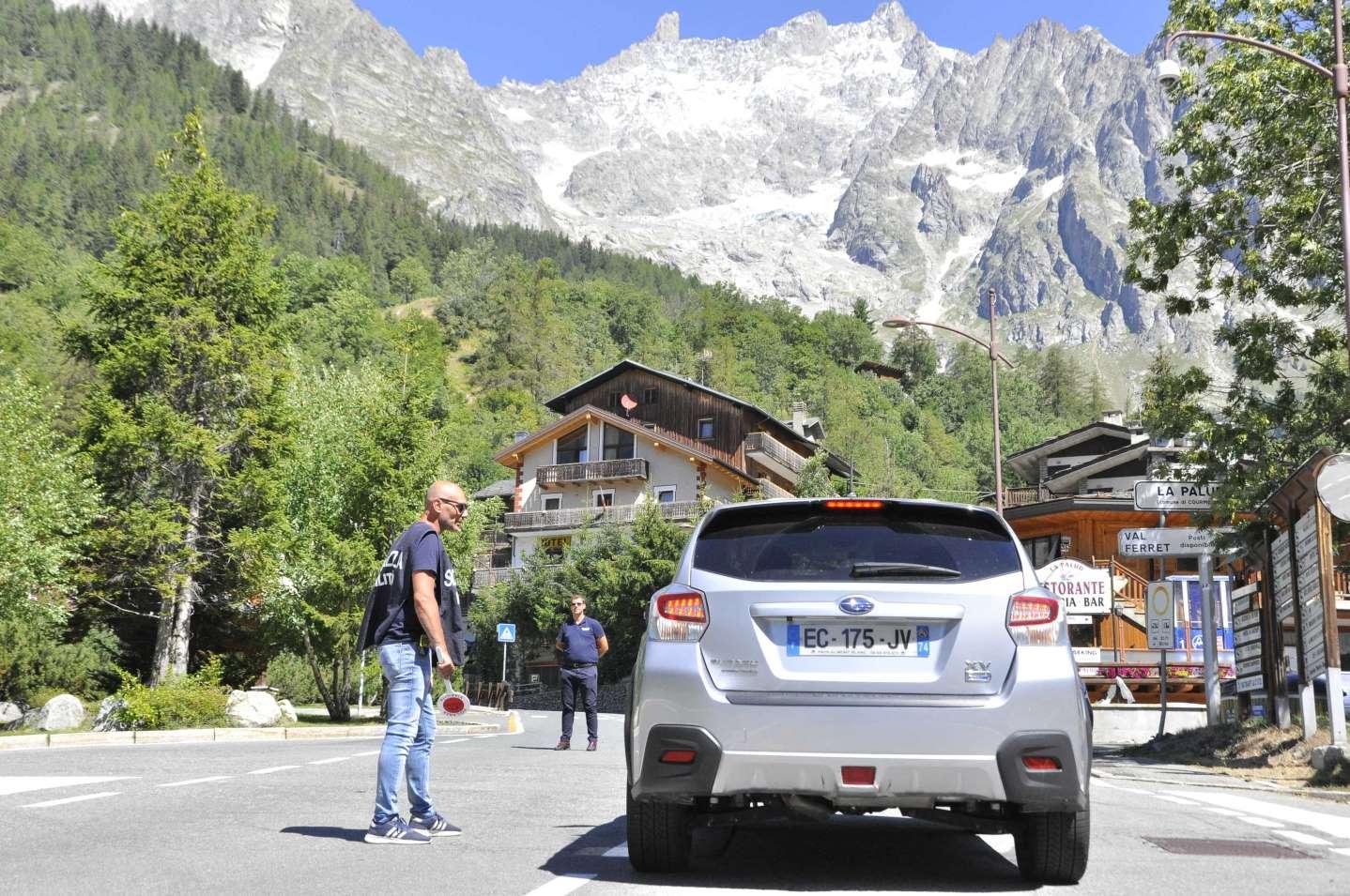Evacuata Val Ferret : Allerta ghiacciaio, per esperti rischio di pochi giorni