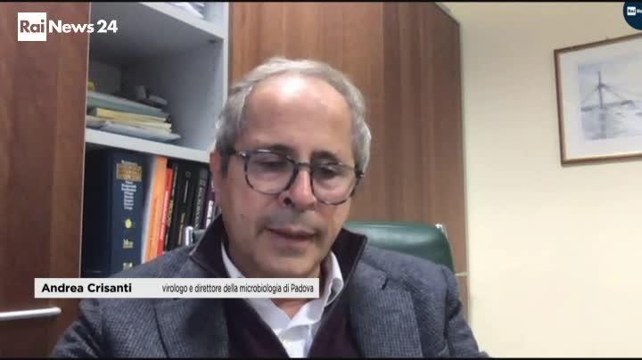 Il virologo Andrea Crisanti : Coronavirus, possibile lockdown a Natale