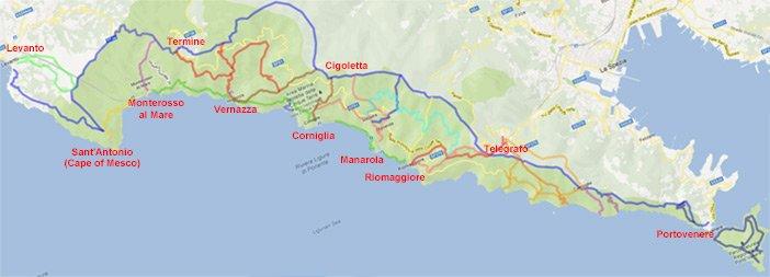 Cinque Terre - Un paradiso nella Riviera ligure