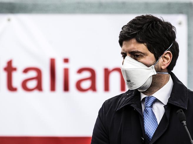 Ministro Speranza: Lo stop AstraZeneca solo per cautela