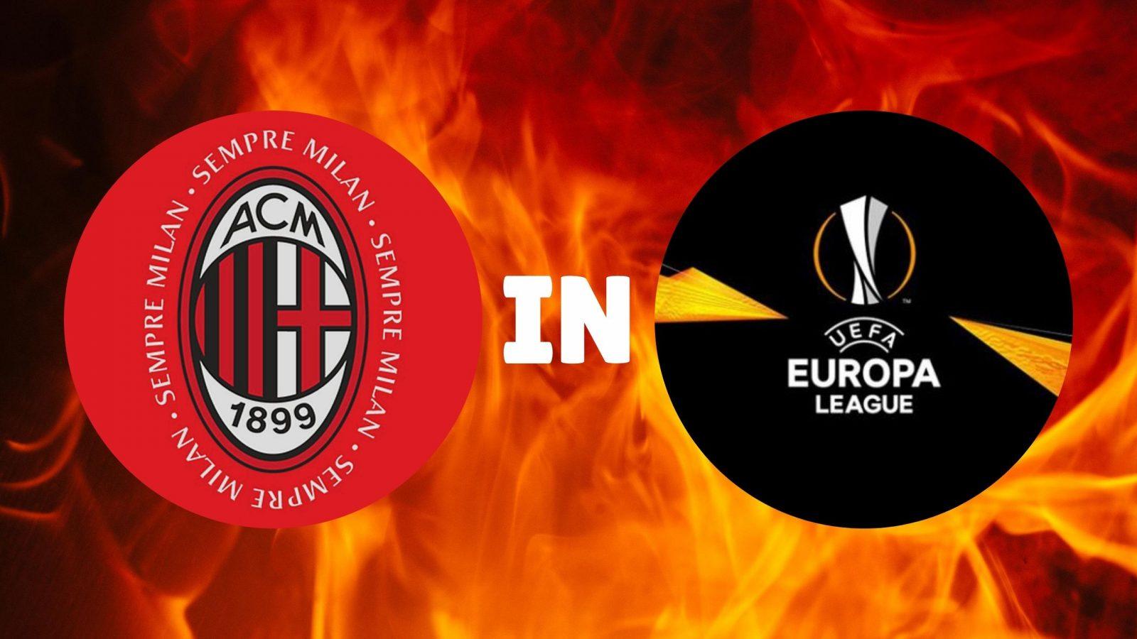 Europa League : Il Milan è primo nel girone
