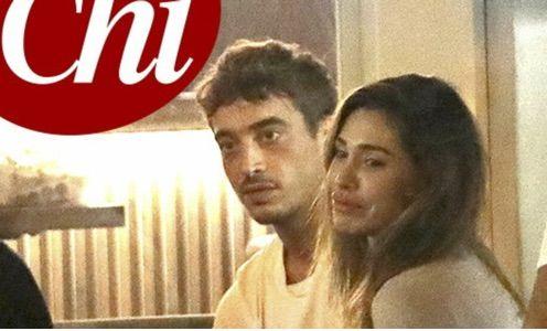 Belen Rodriguez ... addio Stefano : la prima uscita ufficiale con la nuova fiamma