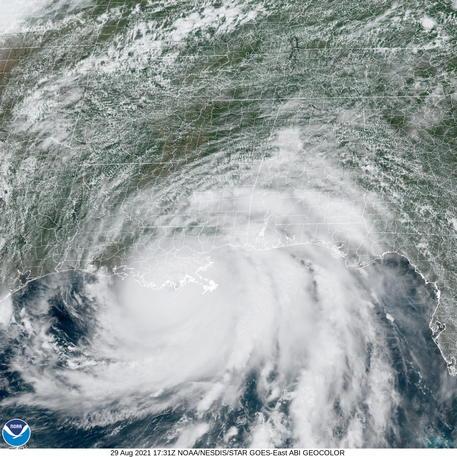 Uragano Ida : inondazioni e un morto in Louisiana