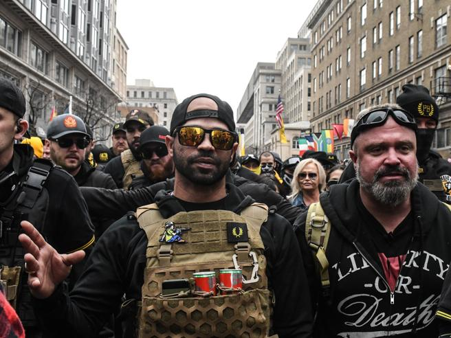 Arrestato capo Proud Boys pro Donald Trump