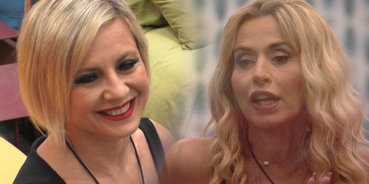Al Gf Vip lite tra Valeria Marini e Antonella Elia : sono sdegnata e mi fa pena