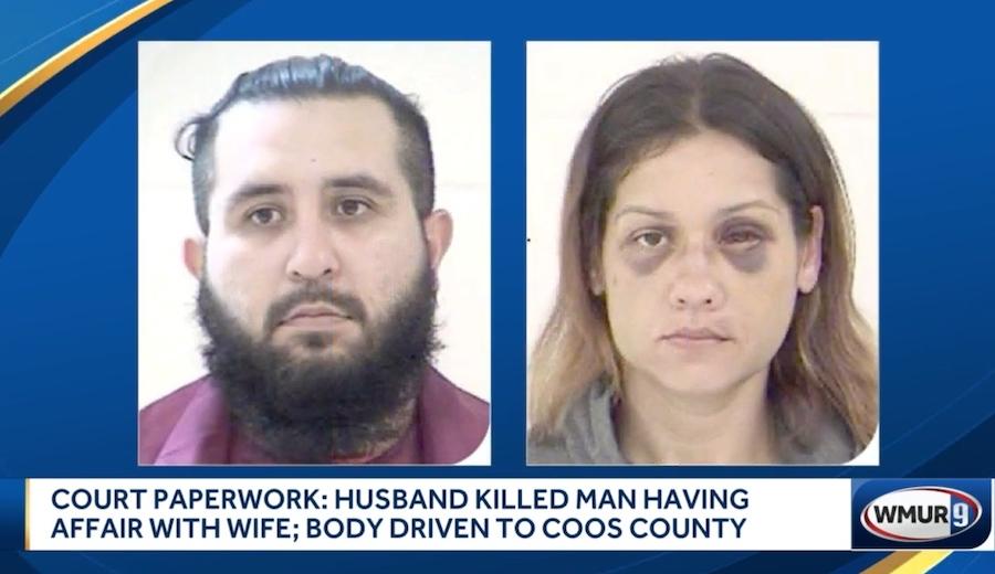 Armando Barron uccide l'amante della moglie e la costringe a decapitarlo