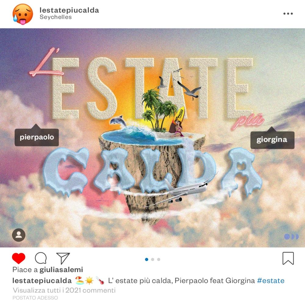 PIERPAOLO feat. GIORGINA L'ESTATE PIÙ CALDA DA OGGI IL NUOVO SINGOLO FUORI OVUNQUE