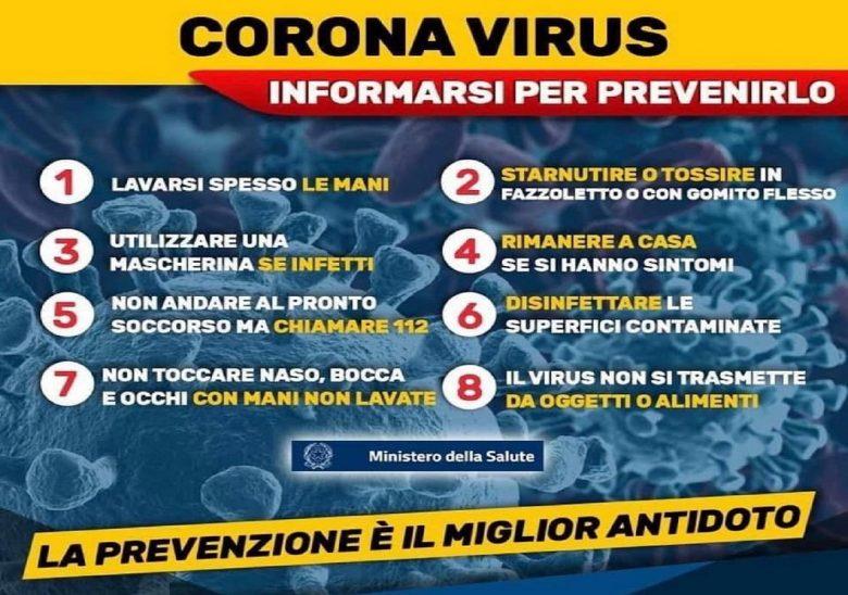 Allerta Coronavirus, 112 casi in Italia : Contagiato 17enne della Valtellina