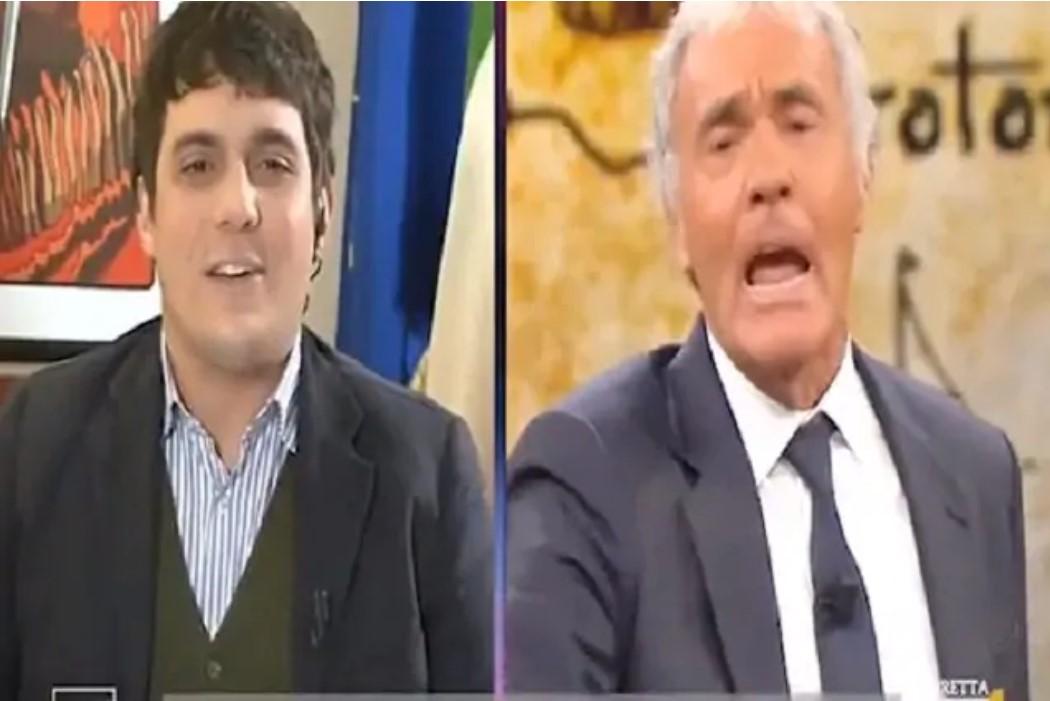Massimo Giletti è una furia : Mi sono rotto... Scontro con Marco Polimeni che minaccia querela