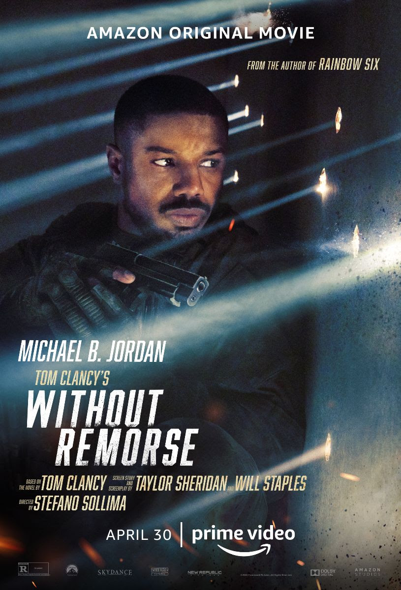 WITHOUT REMORSE diretto da Stefano Sollima con Michael B. Jordan dal 30 aprile su Amazon Prime Video