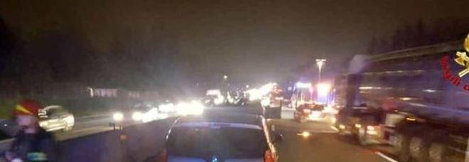 Incidenti sulla A1 : Coinvolti due auto-articolati
