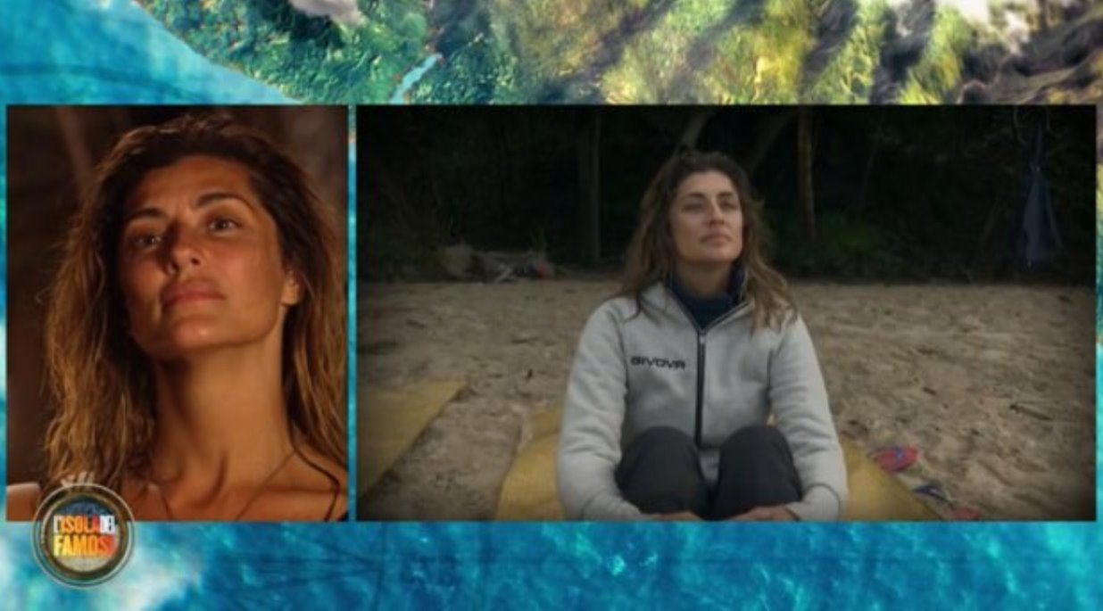 Elisa Isoardi piange all'Isola dei Famosi: Non succederà più!