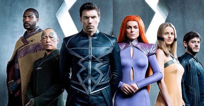 Inhumans serie tv : Anson Mount Freccia Nera | Curiosità