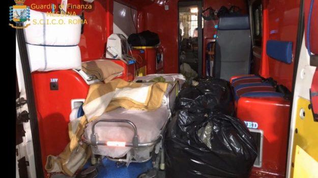 Droga con ambulanze a Messina : 8 arresti