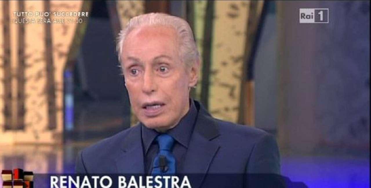 Renato Balestra a Vieni da me : Chiara Ferragni? L