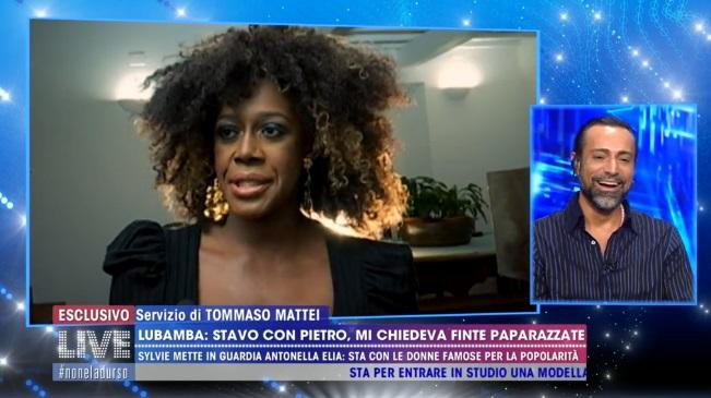 Live non è la D'Urso : Sylvie Lubamba ha avuto una storia con Pietro Delle Piane