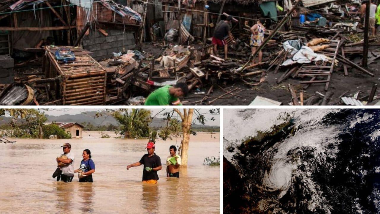Filippine, il tifone Phanfone devasta il paese: il bilancio è di almeno 16 morti