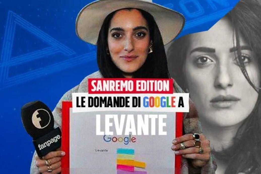Sanremo 2020, Levante: Il significato del mio nome d