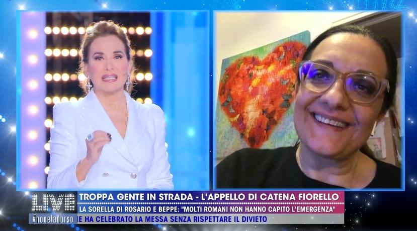 Catena Fiorello choc da Barbara D'Urso : sono stata aggredita al supermercato