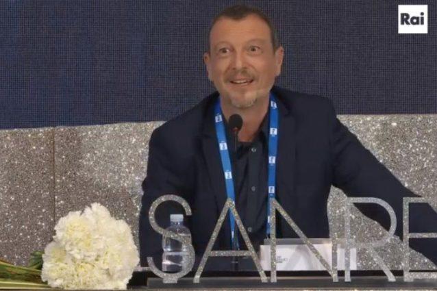 Sanremo 2020, Amadeus in conferenza : Le polemiche non mi hanno ferito