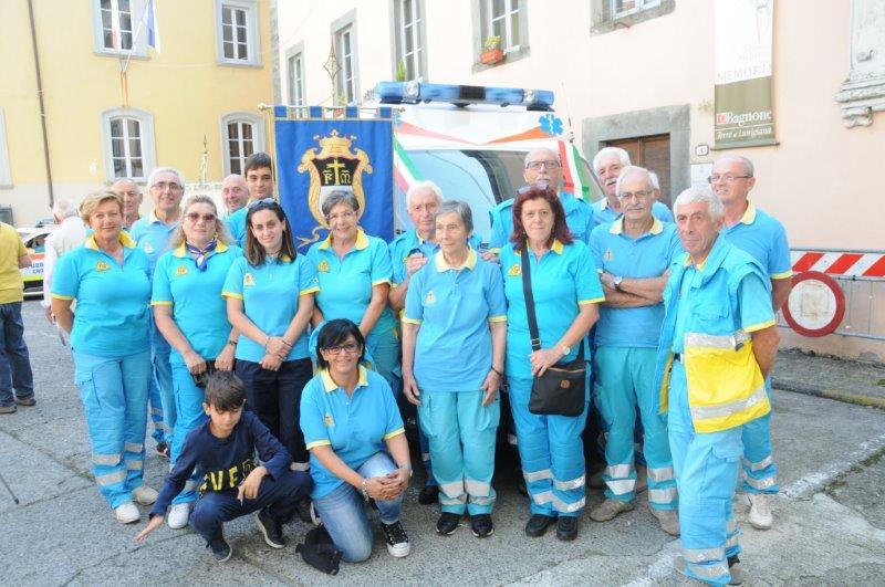A Bagnone intensa campagna vaccinale con l'ausilio della Misericordia che ha costituito anche   il Gruppo di Protezione civile