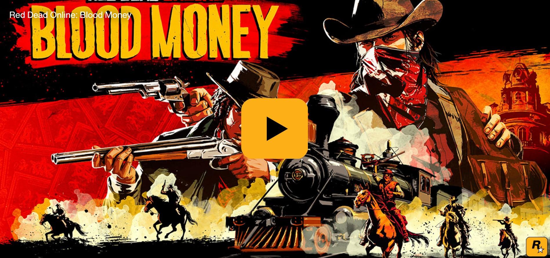 Red Dead Online : Sporcati le mani per arricchirti in una serie di rischiose rapine