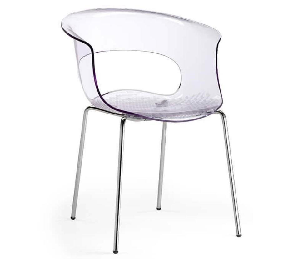 Come abbinare le sedie trasparenti