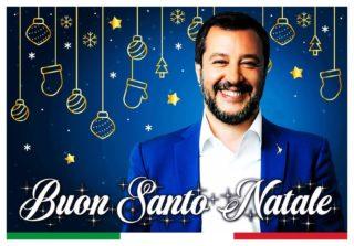 Il video di Natale di Matteo Salvini su TikTok