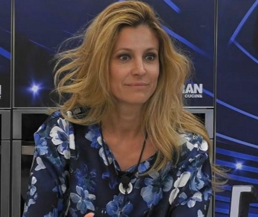 Giancarlo Magalli al Grande Fratello Vip : Adriana Volpe trema