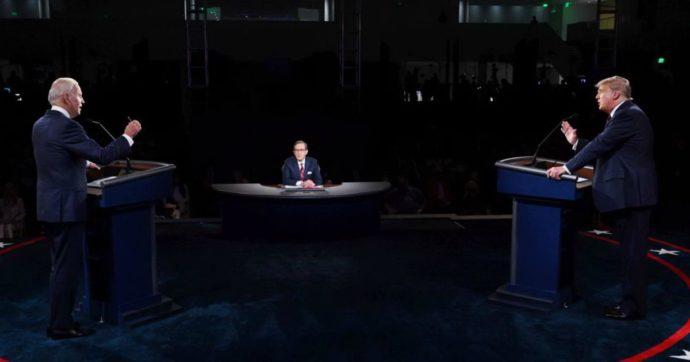 Usa 2020, Trump-Biden: insulti al primo confronto tv