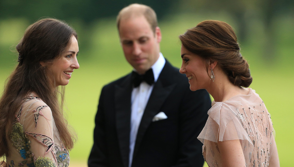 Kate Middleton, al compleanno Rose Hanbury che ha stregato William