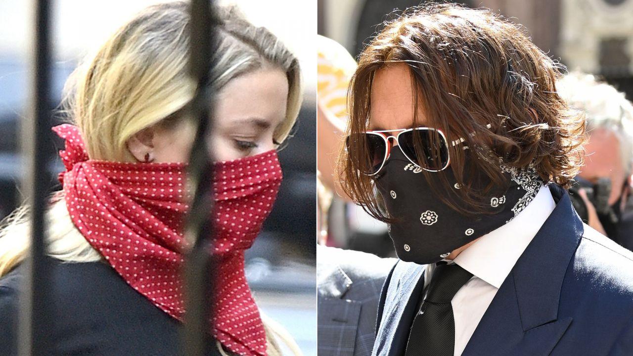 Ha defecato nel nostro letto : L'accusa di Johnny Depp all'ex Amber Heard