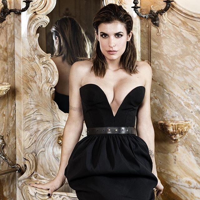 Elisabetta Canalis super sexy in intimo fa impazzire i fan