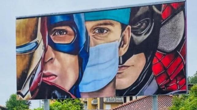 Coronavirus: Ecco i veri supereroi, medici e infermieri