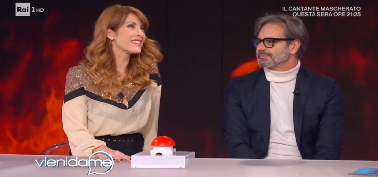 Milena Miconi a Vieni da Me : Lui è molto passionale