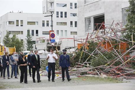Crollo in un cantiere in Belgio : 5 morti