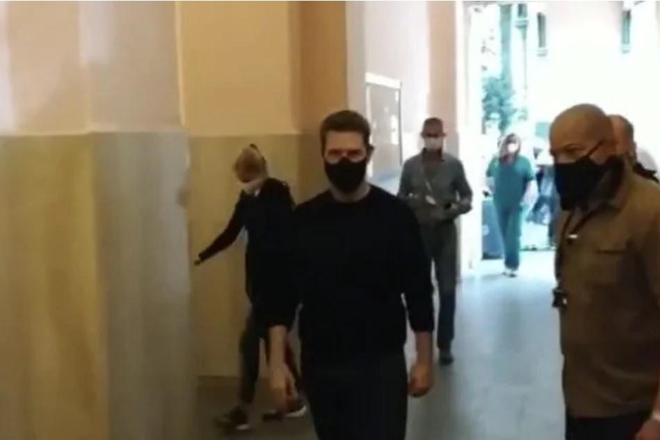 Tom Cruise a Roma per Mission Impossible fa il test Covid-19