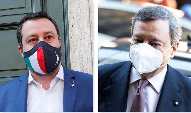 Matteo Salvini: con Presidente Draghi si è parlato riaperture