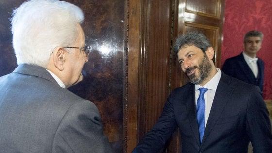 Presidente Mattarella a Fico affida mandato esplorativo