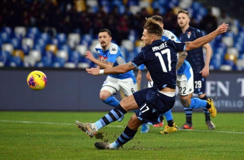 Errore dal dischetto di Immobile, Insigne manda il Napoli in semifinale di Coppa Italia