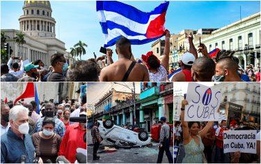 A Cuba un morto durante manifestazioni