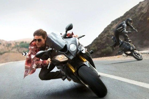 La superstar Tom Cruise torna a Roma per le riprese di Lybra