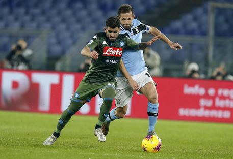 Anticipo Serie A: Lazio Napoli 1-0, battuto record di Eriksson