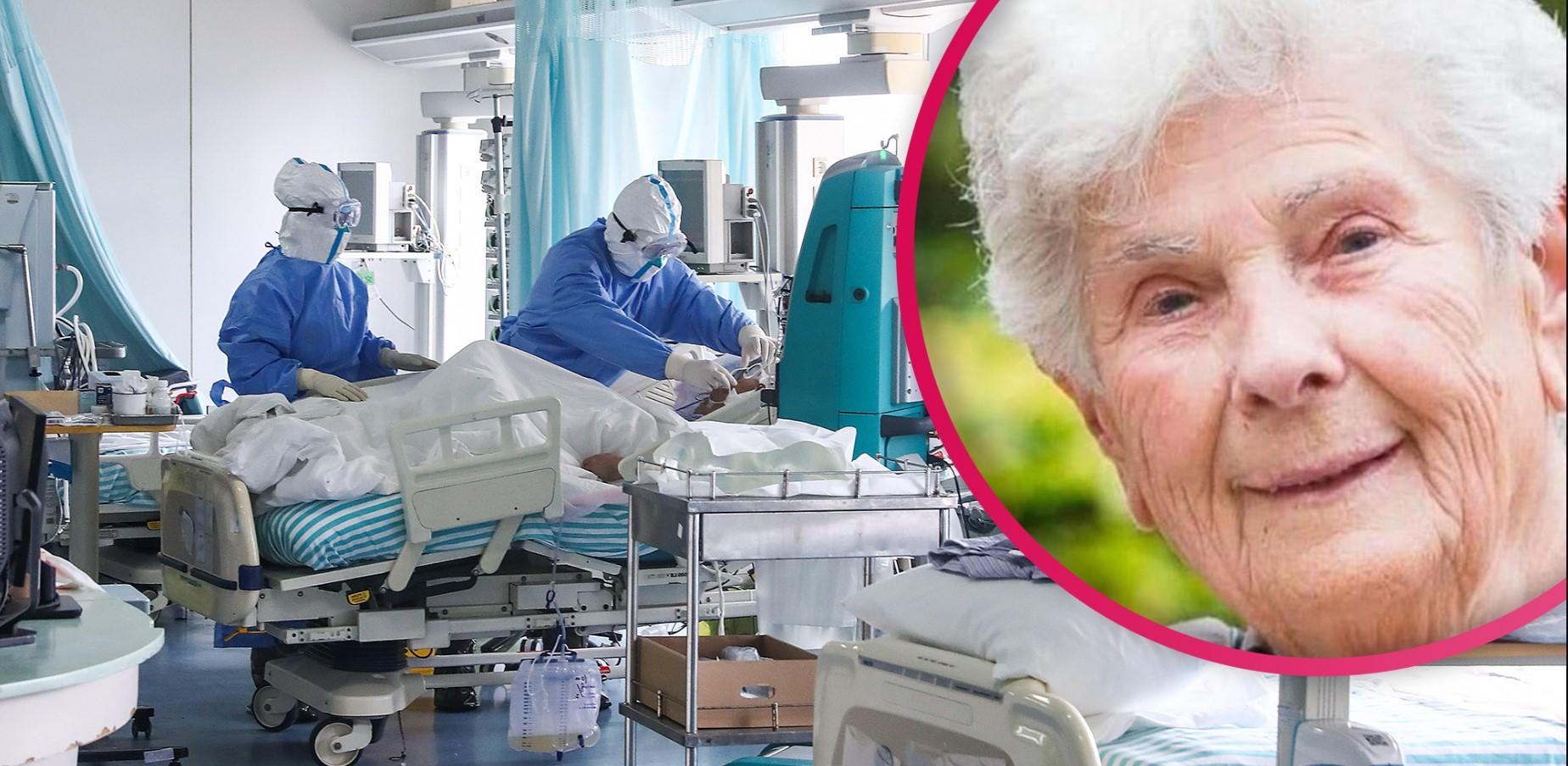 Datelo a qualcuno più giovane : Coronavirus, a 90 anni muore dopo aver rifiutato il ventilatore
