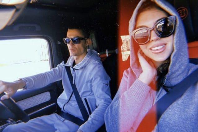 Cristiano Ronaldo e Georgina dopo Sanremo: rientro a Torino e allenamento con la Juventus