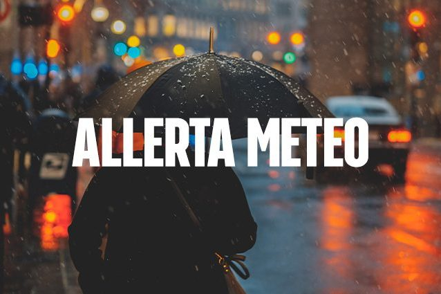 Maltempo : Allerta meteo per temporali su 14 regioni
