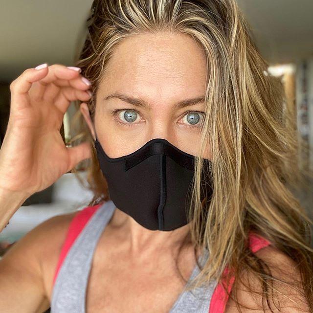 Jennifer Aniston mostra l