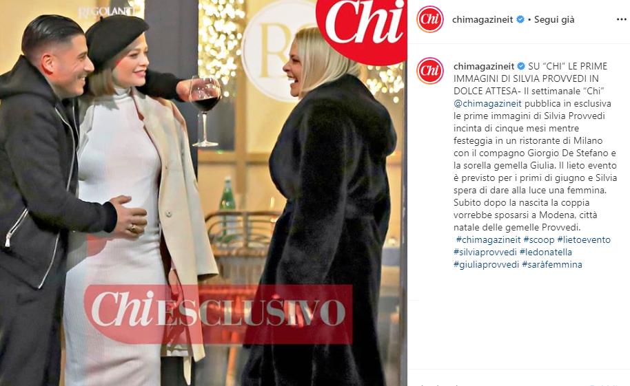 Le Donatella : Silvia Provvedi incinta rompe il silenzio sulla gravidanza
