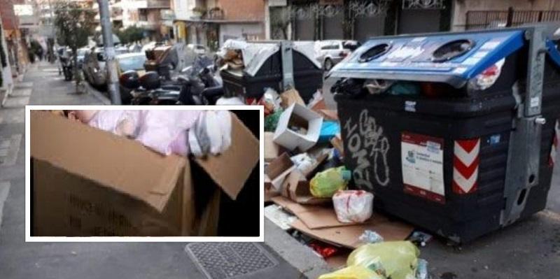 In Svizzera ritrovata neonata abbandonata al gelo tra i rifiuti in una scatola di cartone